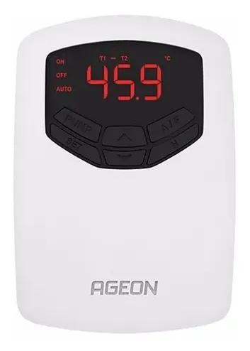 Controlador Automasol TDI Para Aquecimento Solar Ageon