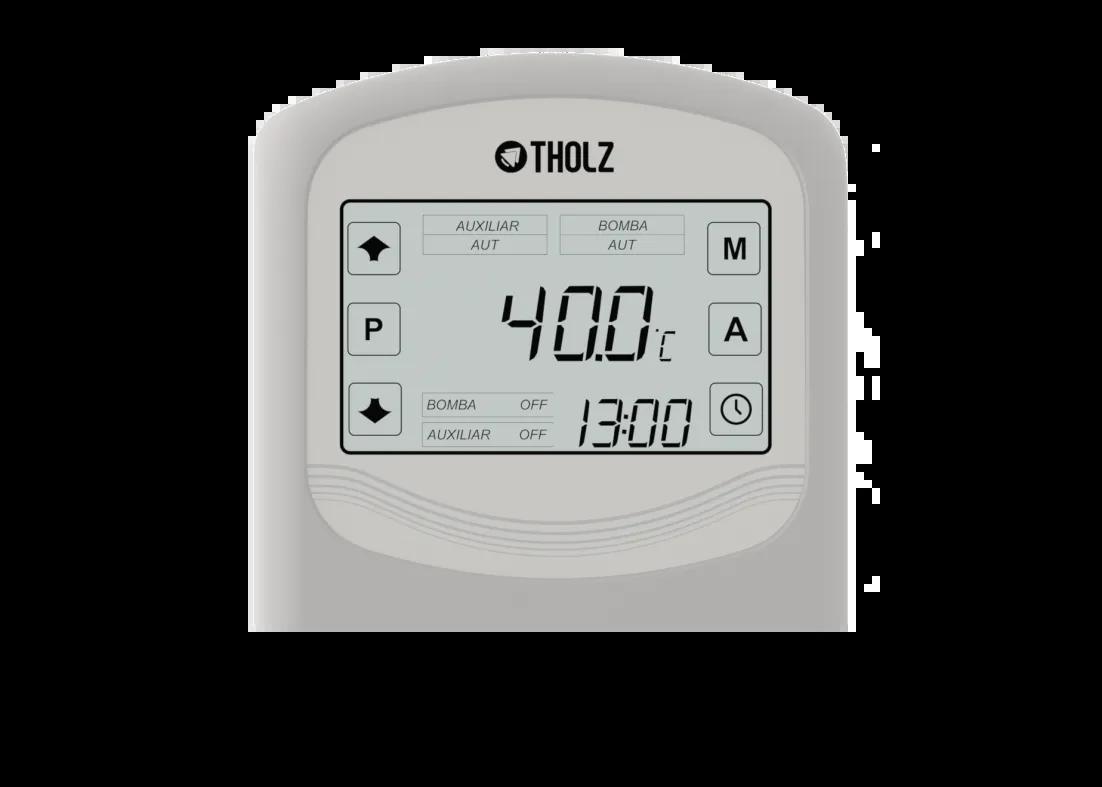Controlador para Aquecimento Solar Residencial Com Apoio TSZ Tholz