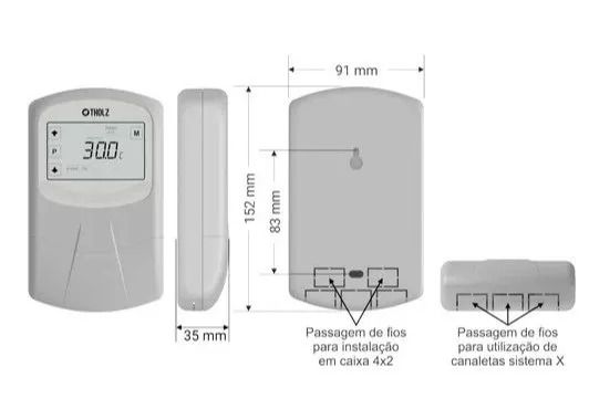 Controlador Solar Mmz / Par Luvas Para Sensor