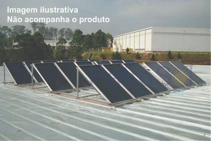 Kit Aquecedor solar - 2000 litros