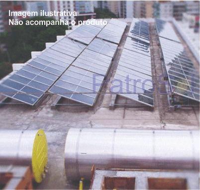 KIT AQUECEDOR SOLAR - 2500 LITROS