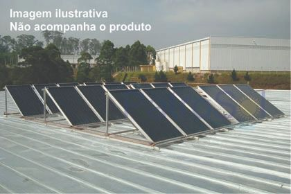 Kit Aquecedor solar - 3000 litros