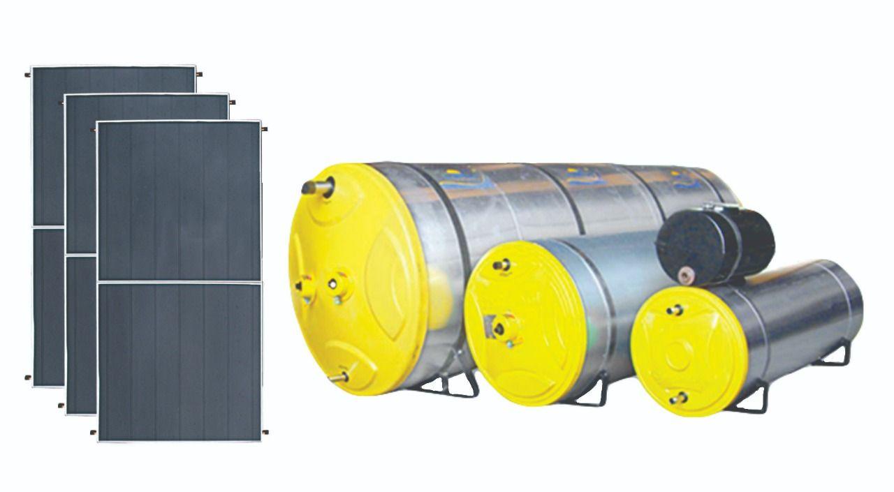 Kit Aquecedor solar - 4000 litros