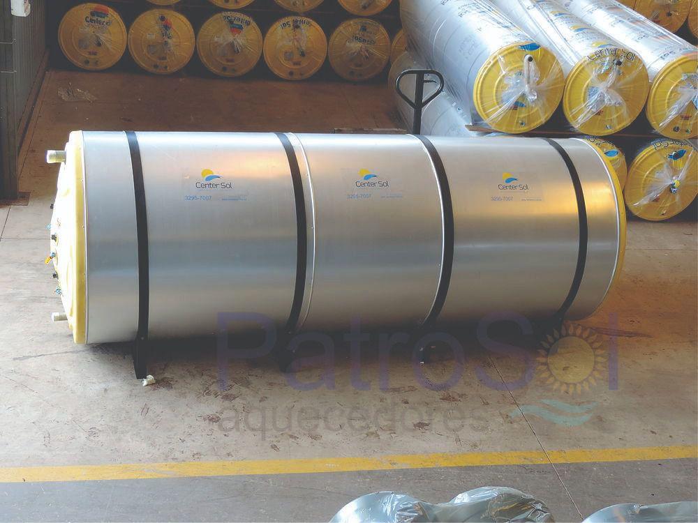 Kit Aquecedor solar - 5000 litros