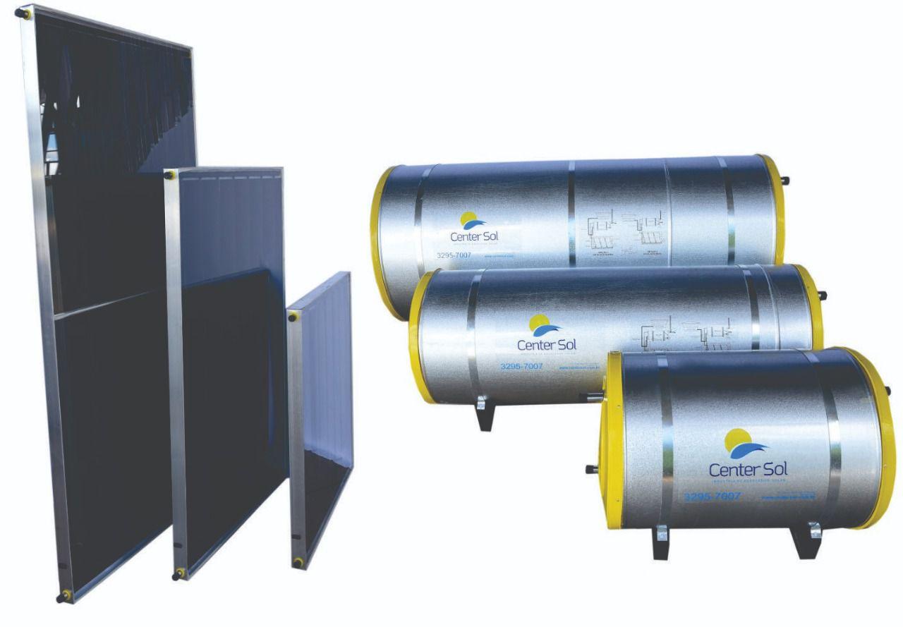 Kit Aquecedor solar 800 litros – Alta Pressão