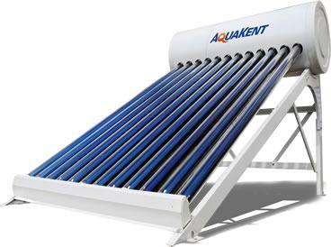 Kit Aquecedor Solar a Vácuo Acoplado Aquakent 360 litros -  24 Tubos
