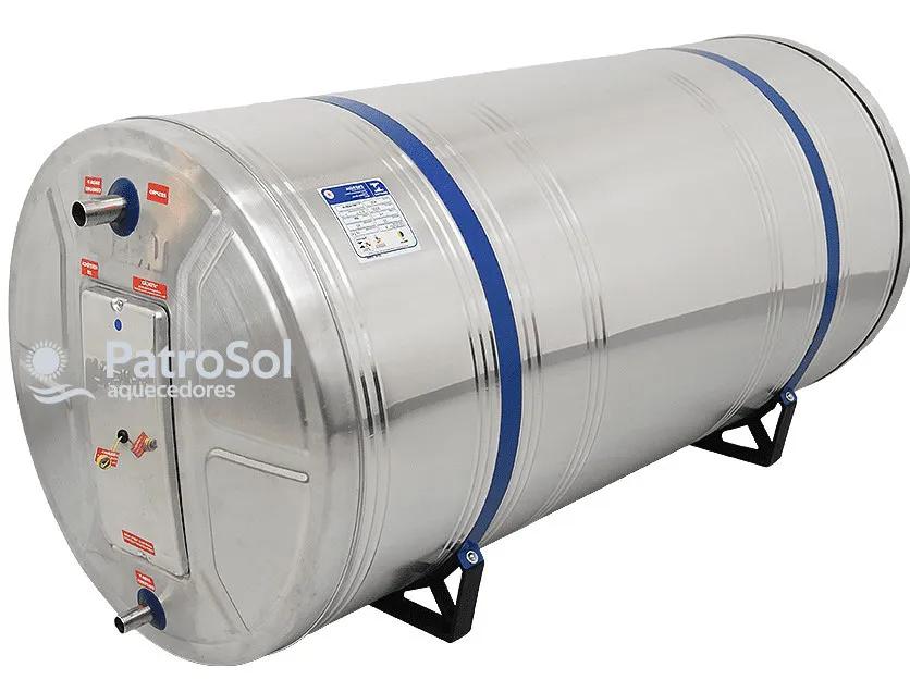 Kit Aquecedor Solar Com Boiler 400 Litros Desnível + 2 Placas 2x1m Vidro Termo Endurecido Cobre Unisol