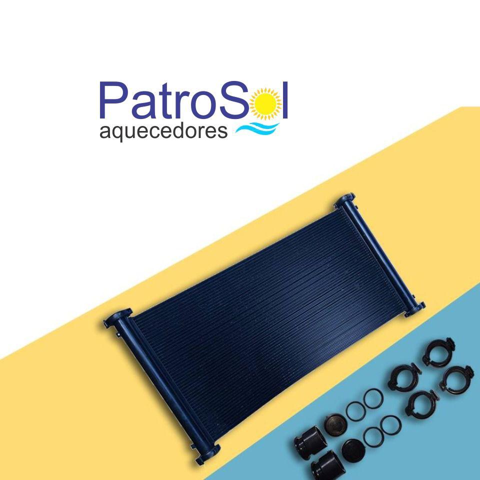 Kit Aquecedor Solar Para Piscina 21m²