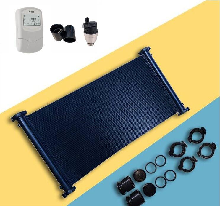 Kit Aquecedor Solar Para Piscina 36m²