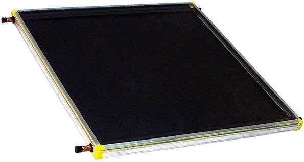 Placa para Aquecedor Solar - Coletor 1,0 x 1,0m Cobre Vidro Termo Endurecido