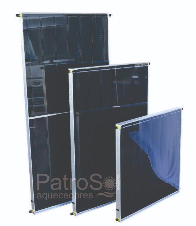Placa para Aquecedor Solar - Coletor 1,5x1 Inox