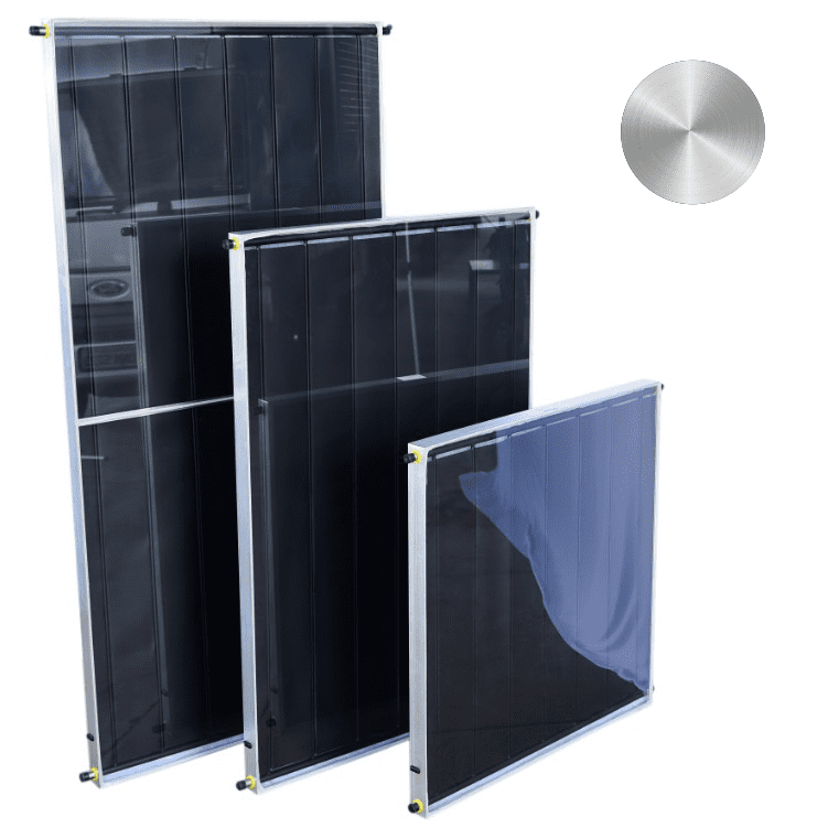 Placa para Aquecedor Solar - Coletor 1x1m Inox