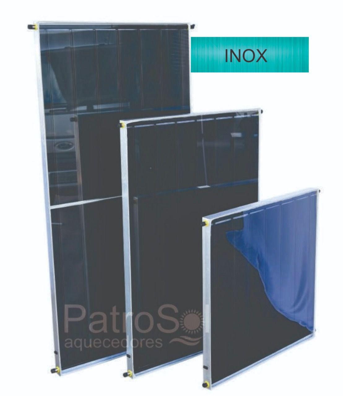 Placa para Aquecedor Solar - Coletor 2x1 Inox