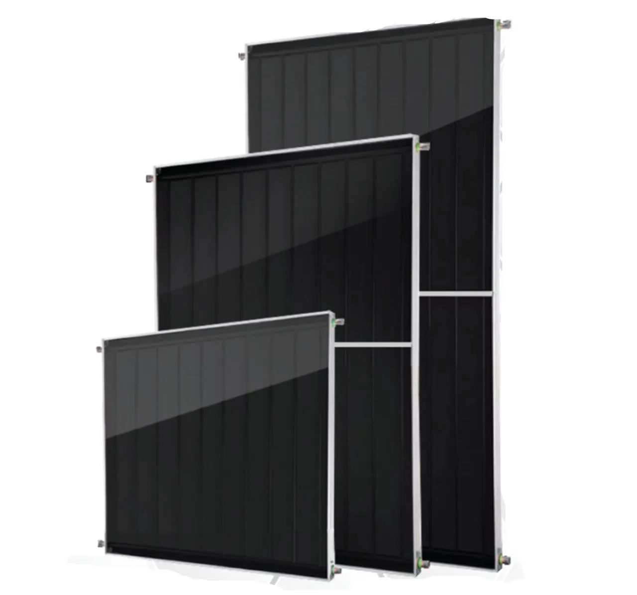 Placa para Aquecedor Solar - Coletor 2x1m Vidro Termo Endurecido
