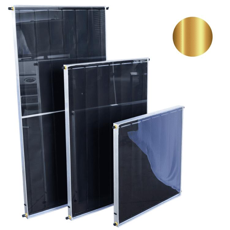 Placa para Aquecedor Solar - Coletor 2x1m Cobre