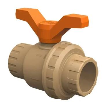 Registro Esfera Soldável PVC 50mm Para Piscina - Tigre