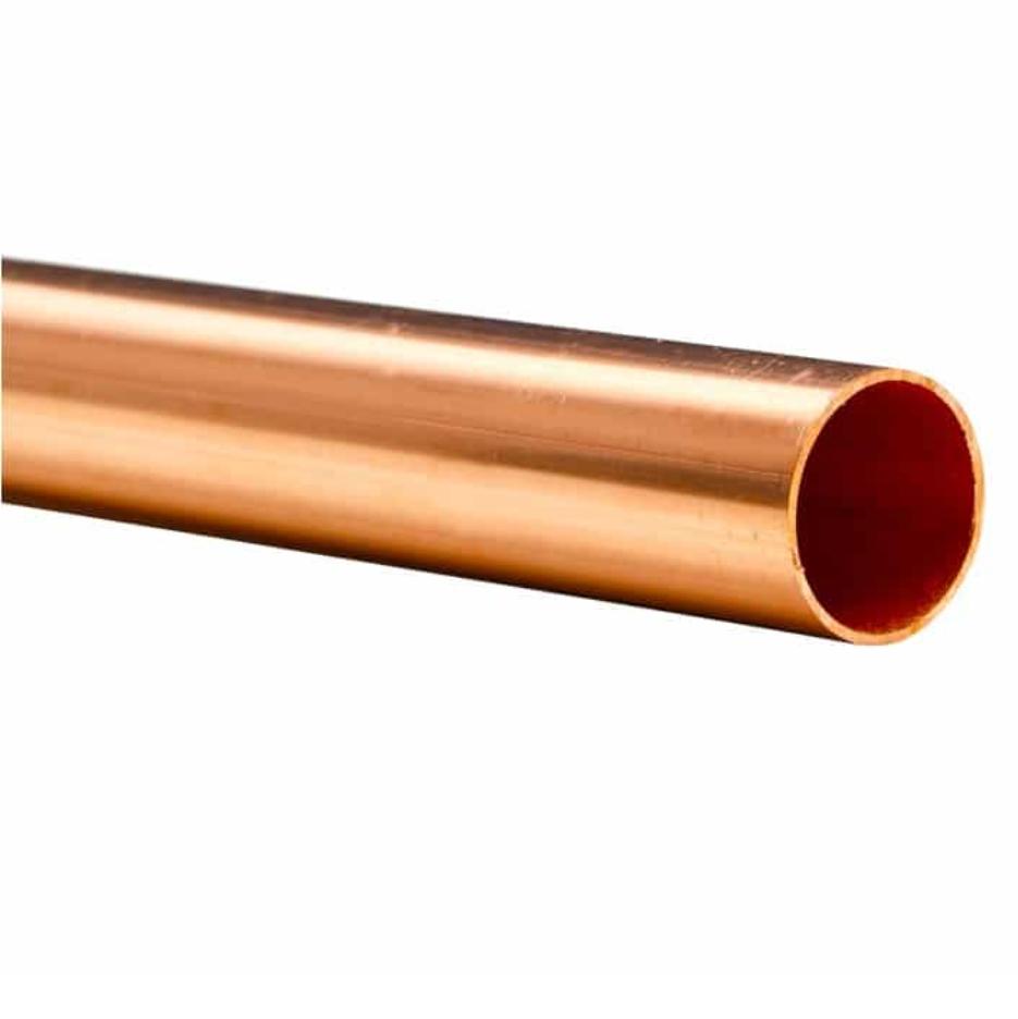 Tubo de cobre classe E 22mm  Barra com 2 metros