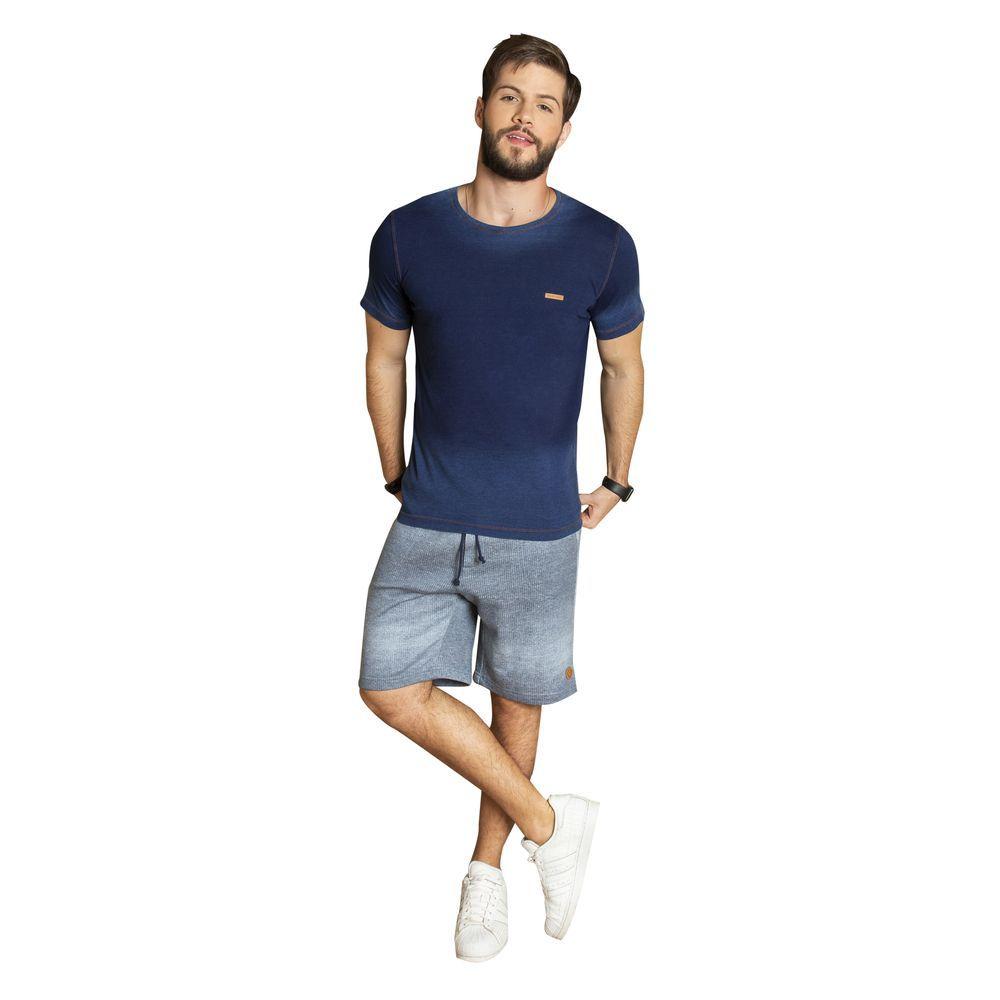 Bermuda Moletom fleece jeans