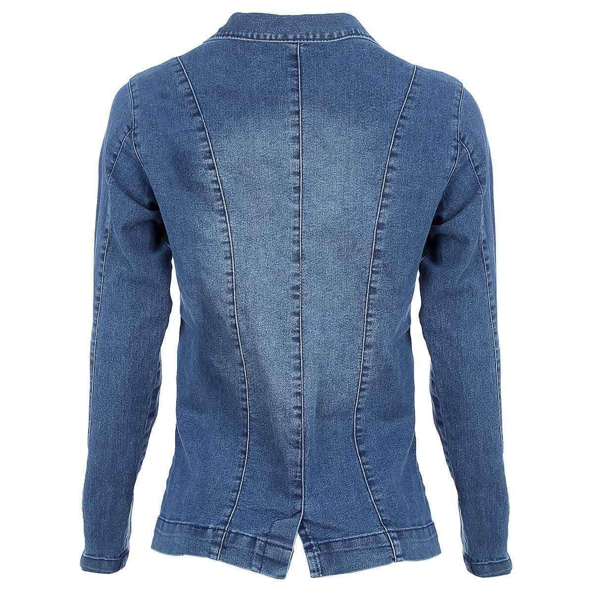 Blazer Jeans Azul