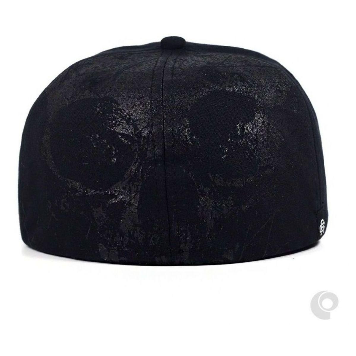 Boné Anth Co Skull Preto