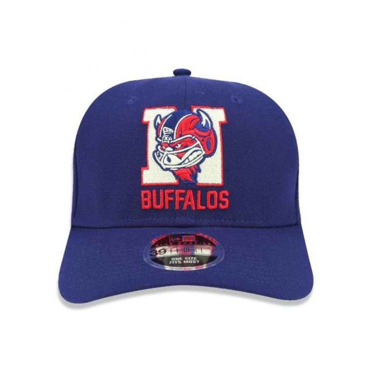Boné New Era 3930 Hp Buffalos Football - MARINHO
