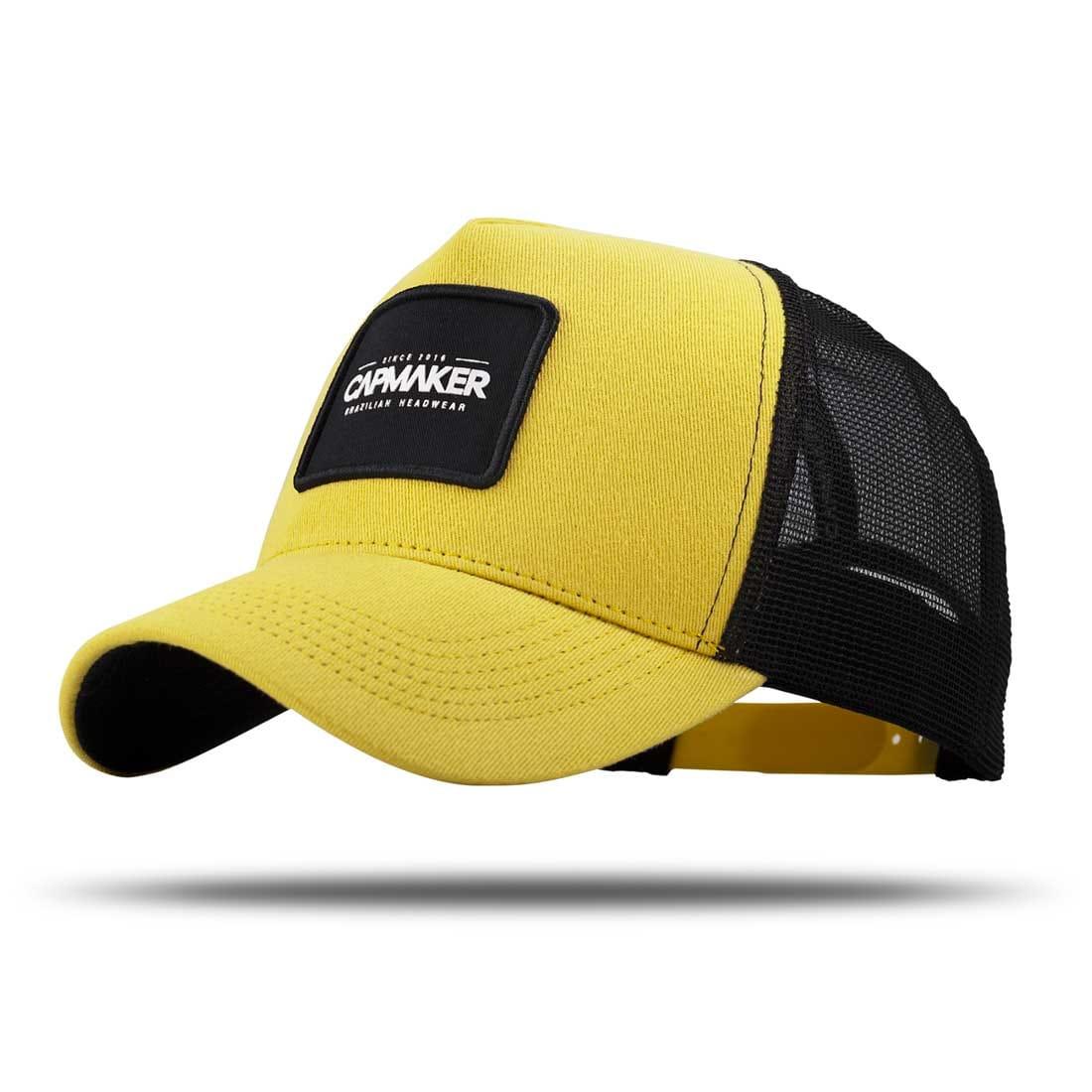 Boné Trucker Classic Yellow