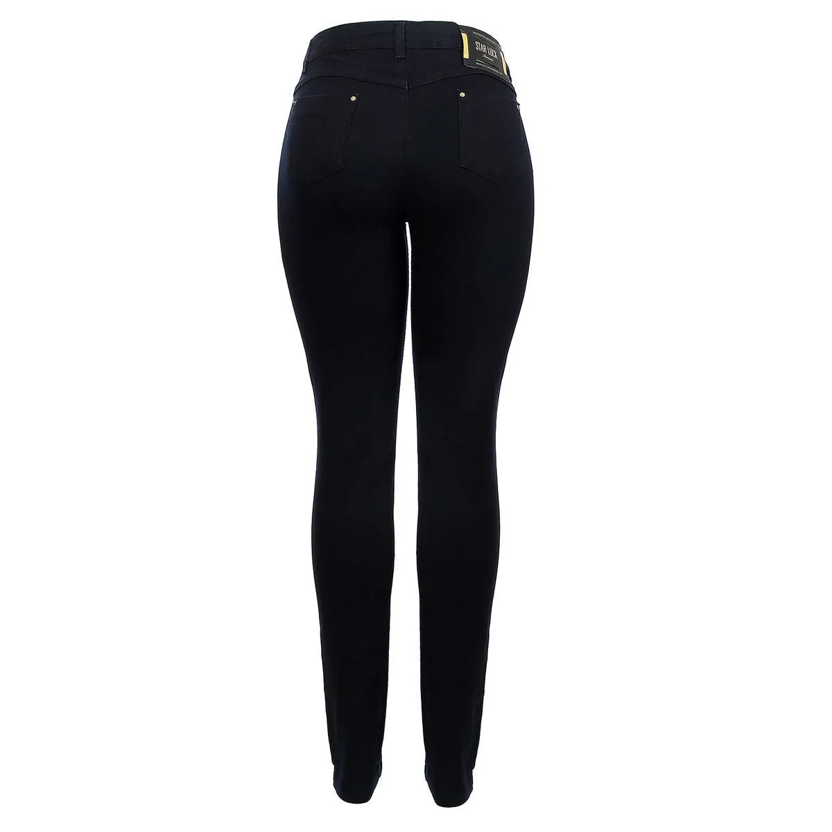 Calça Jeans Star Luck Skinny Destroyd Preta