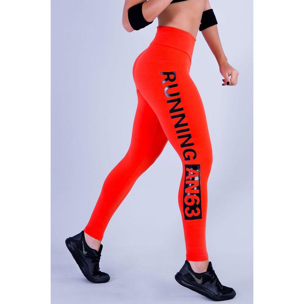 209a661e1 Calça Legging Feminina Laranja Running - Vitrine Casual - Moda e ...