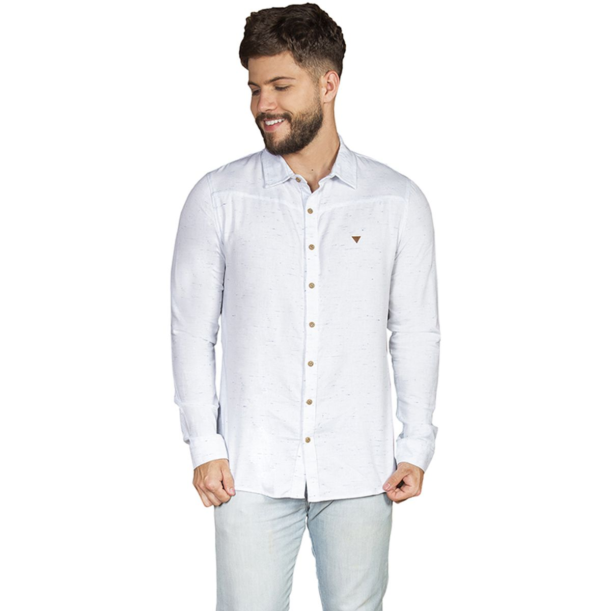 Camisa Manga Longa Botonê