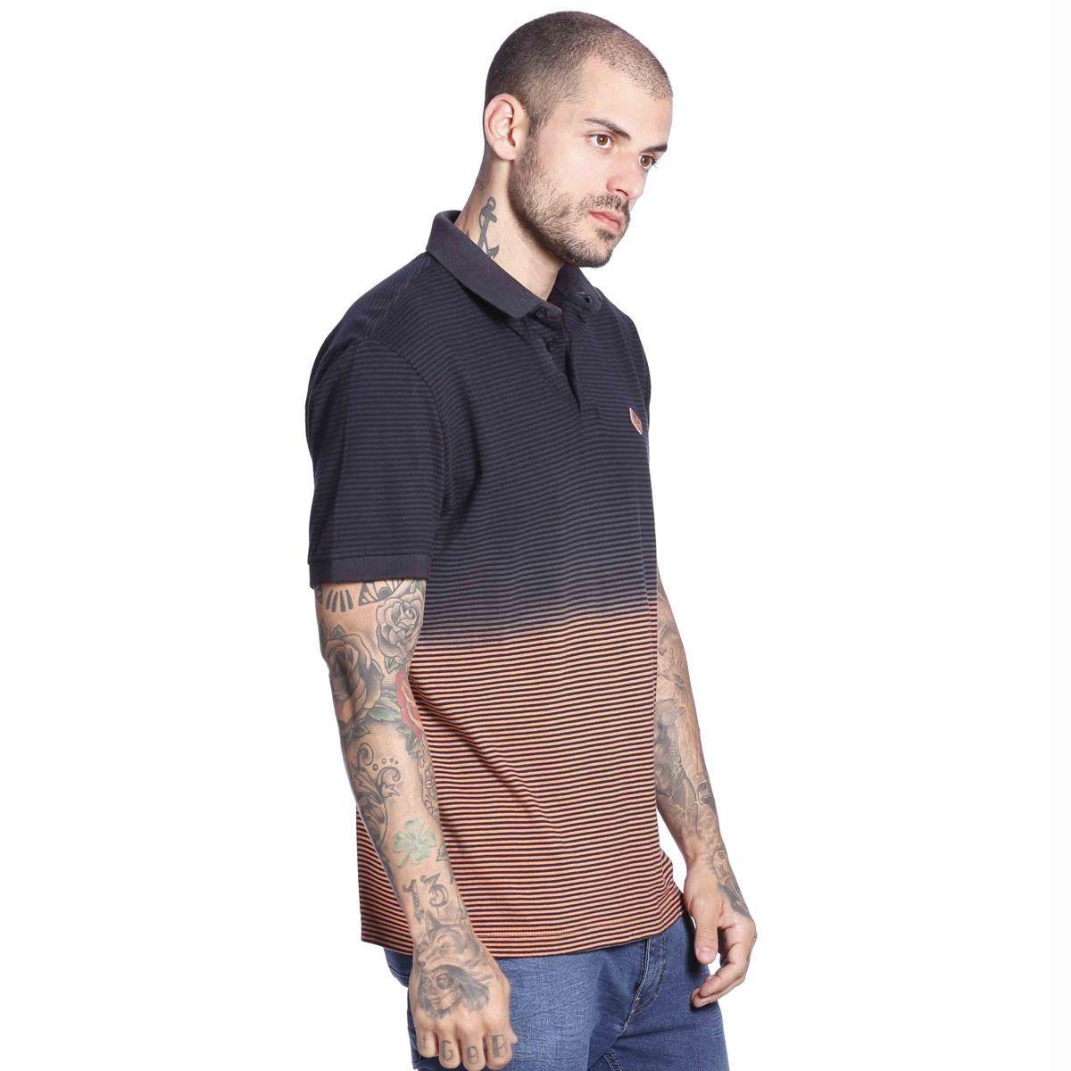 Camisa Polo Degrade