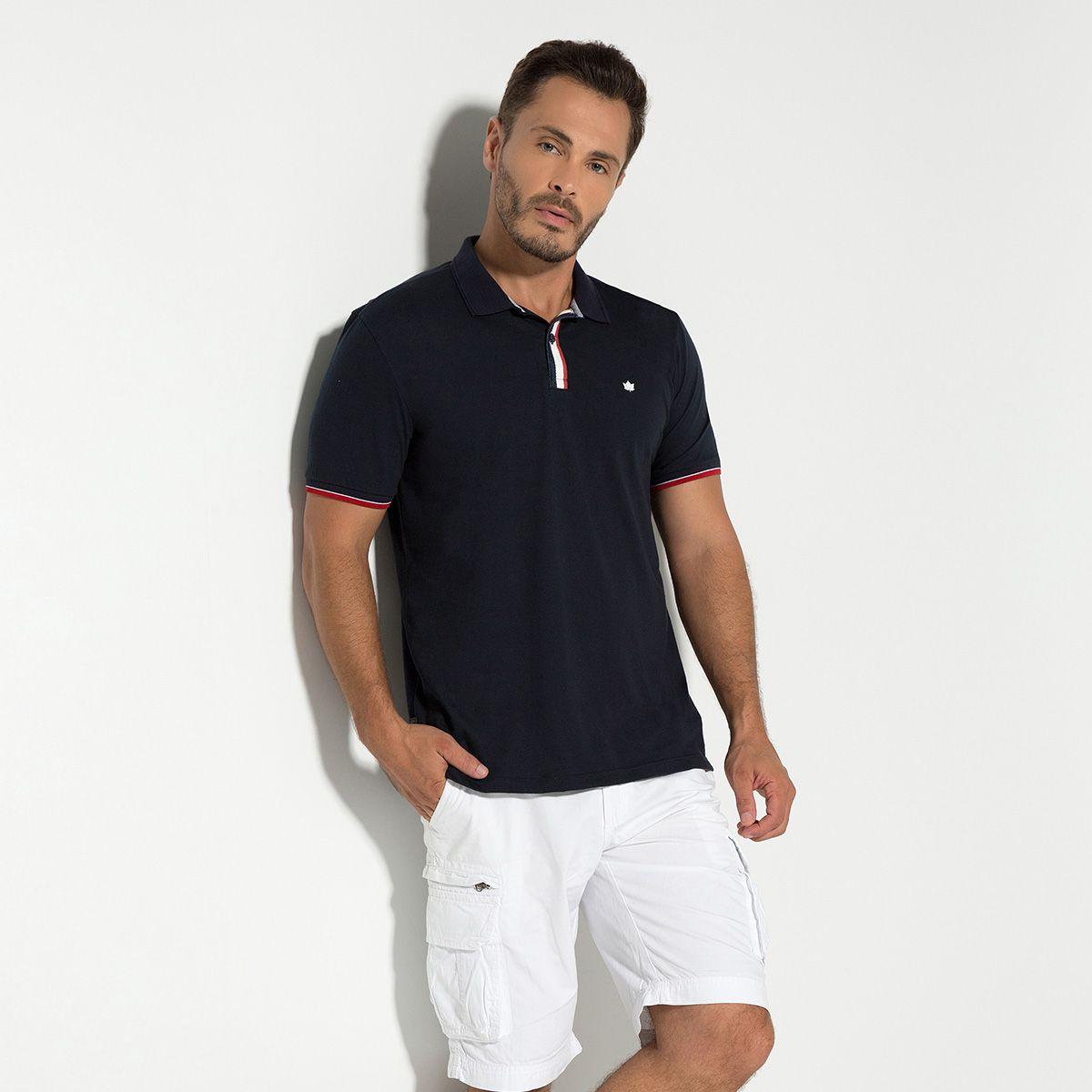 Camisa Polo Meia Malha