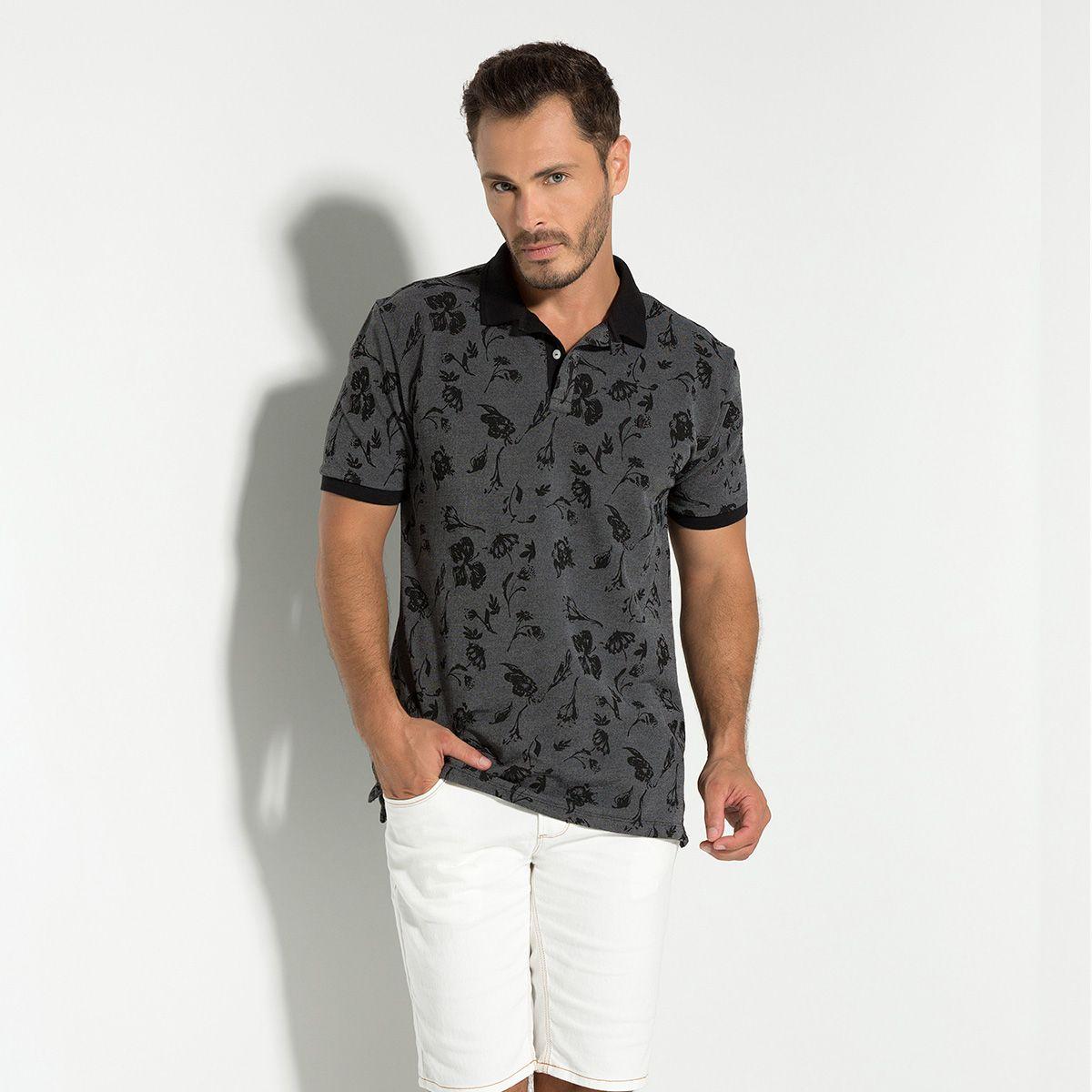 Camisa Polo Piquet Binado
