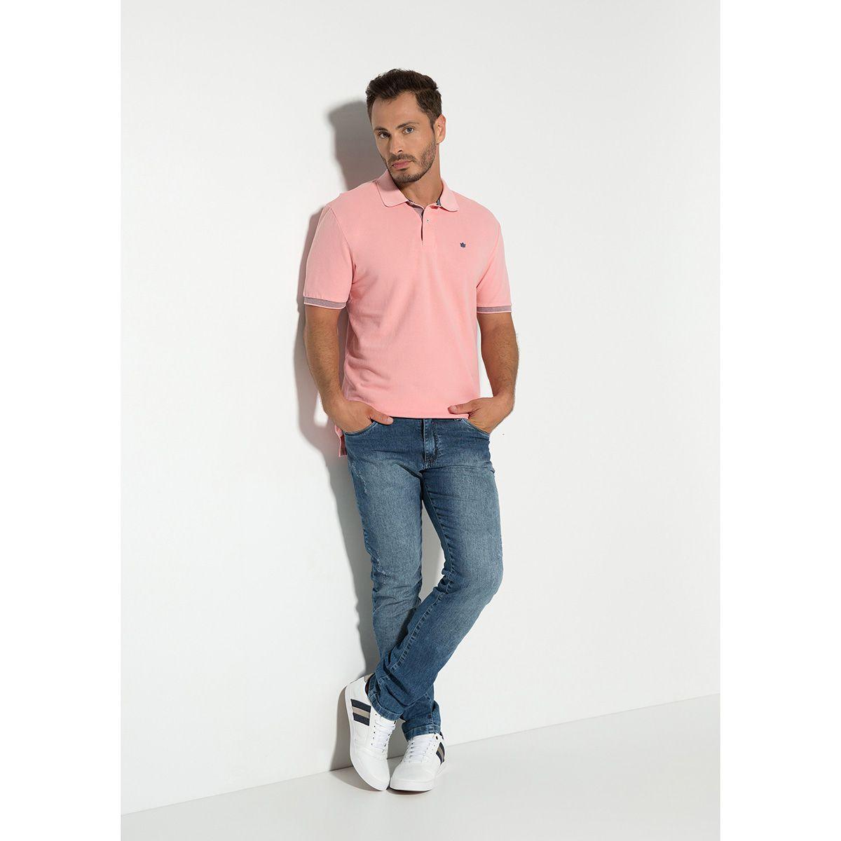 Camisa Polo Piquet Duplo