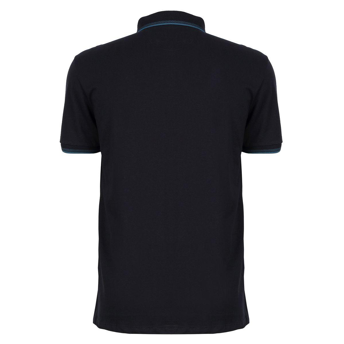 Camisa Polo Seeder Azul Marinho