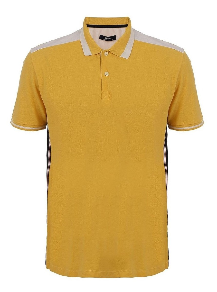 Camisa Polo Seeder Piquet Amarela