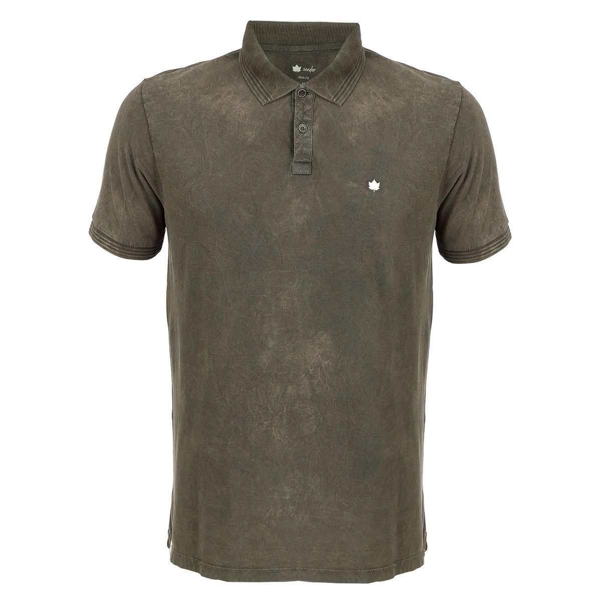 Camisa Polo Seeder Ting Diferenciado Verde