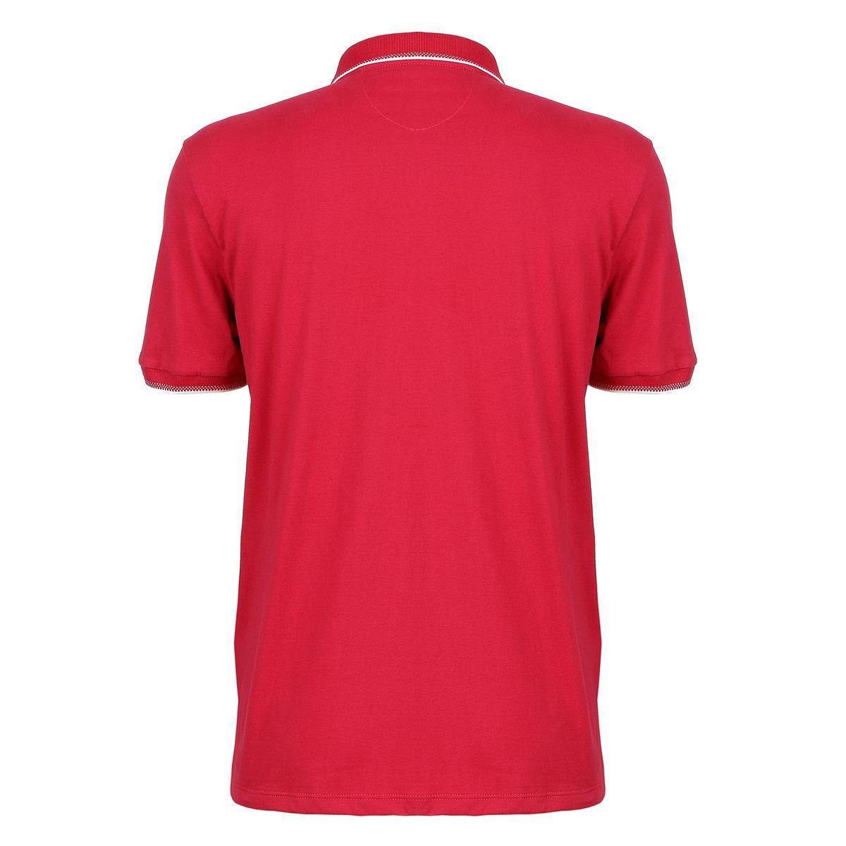 Camisa Polo Seeder Vermelho