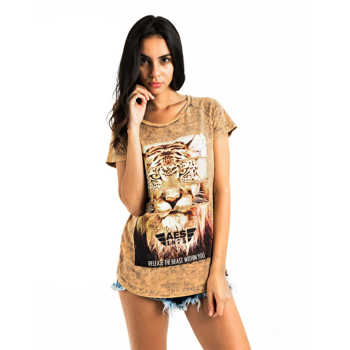 Camiseta AES 1975 Animals