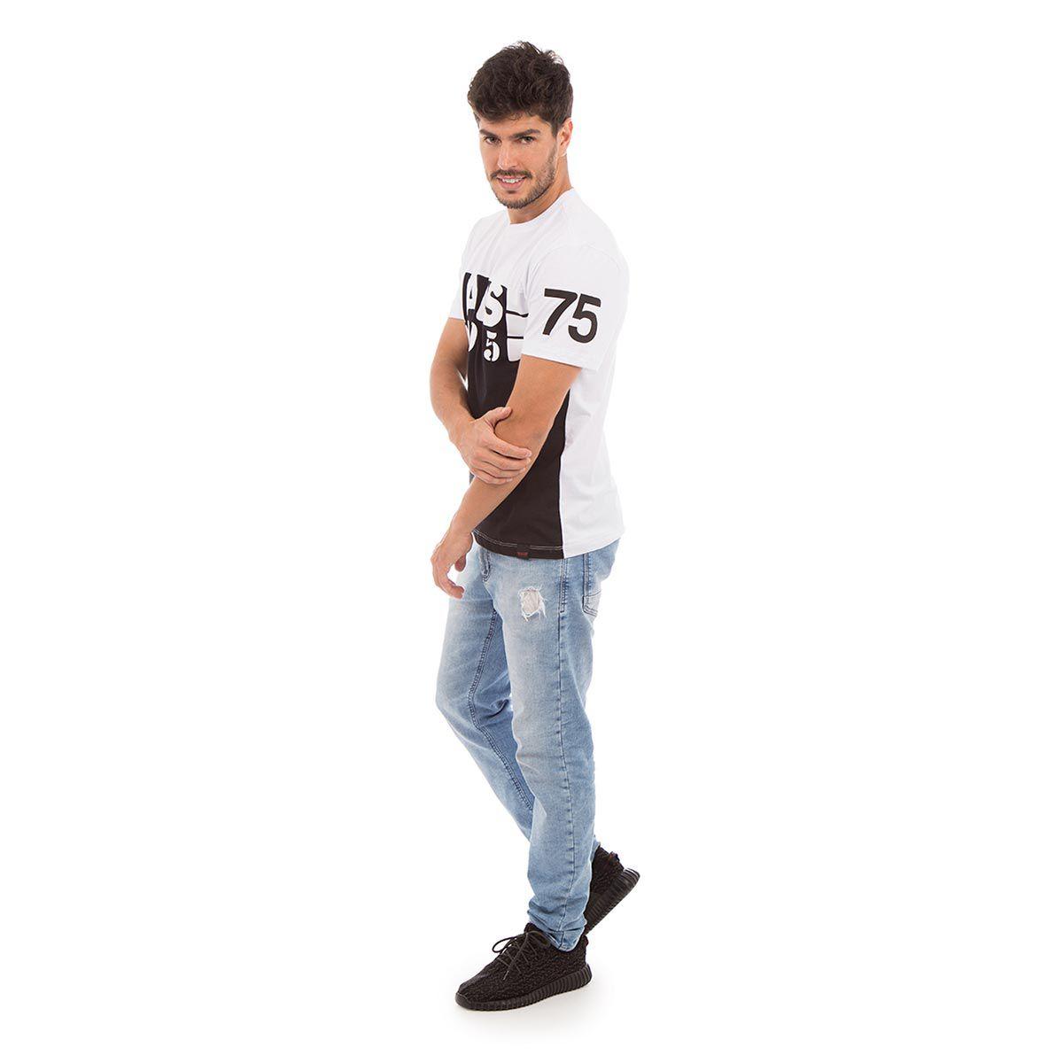 Camiseta AES 1975 Black & White