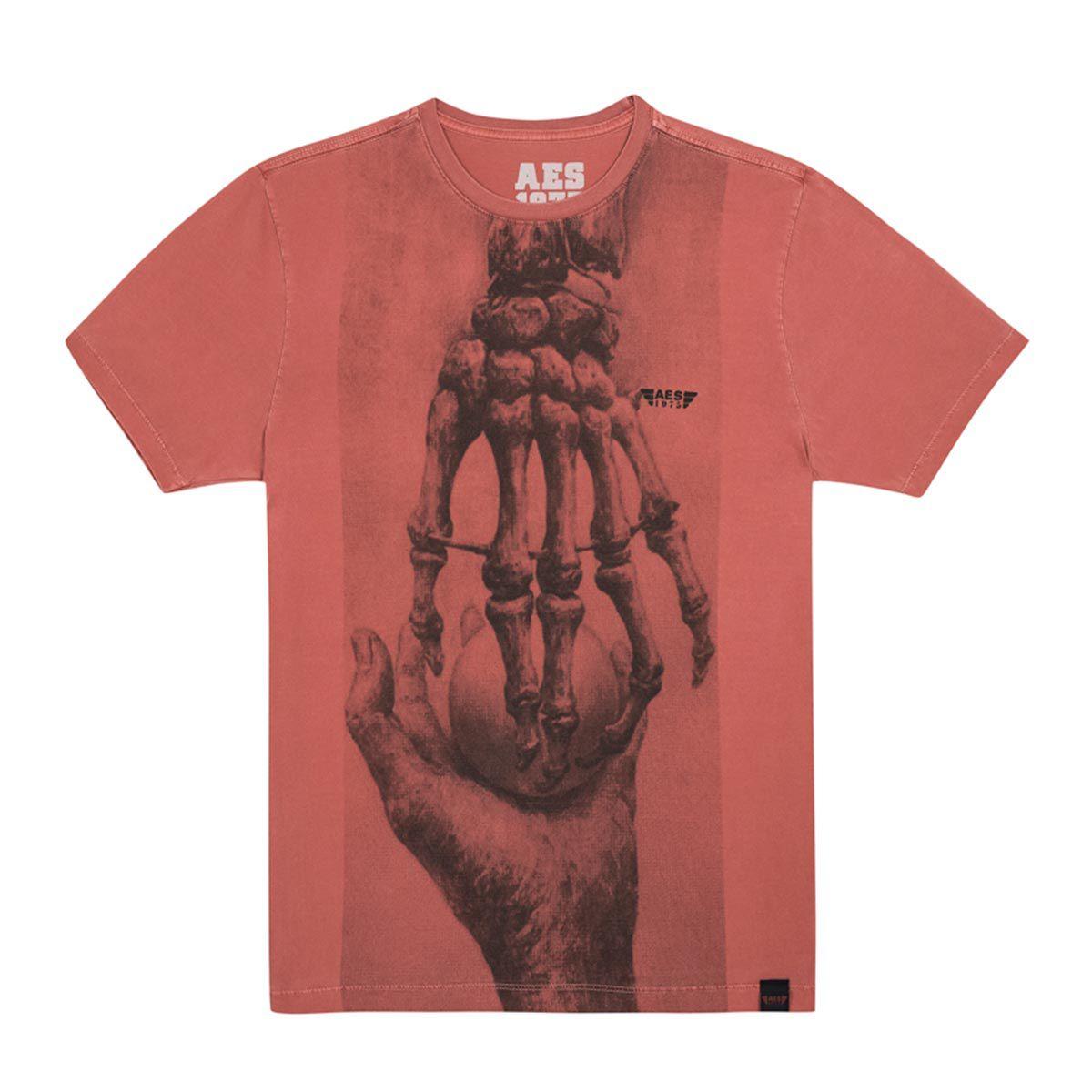 Camiseta AES 1975 Hand Skull