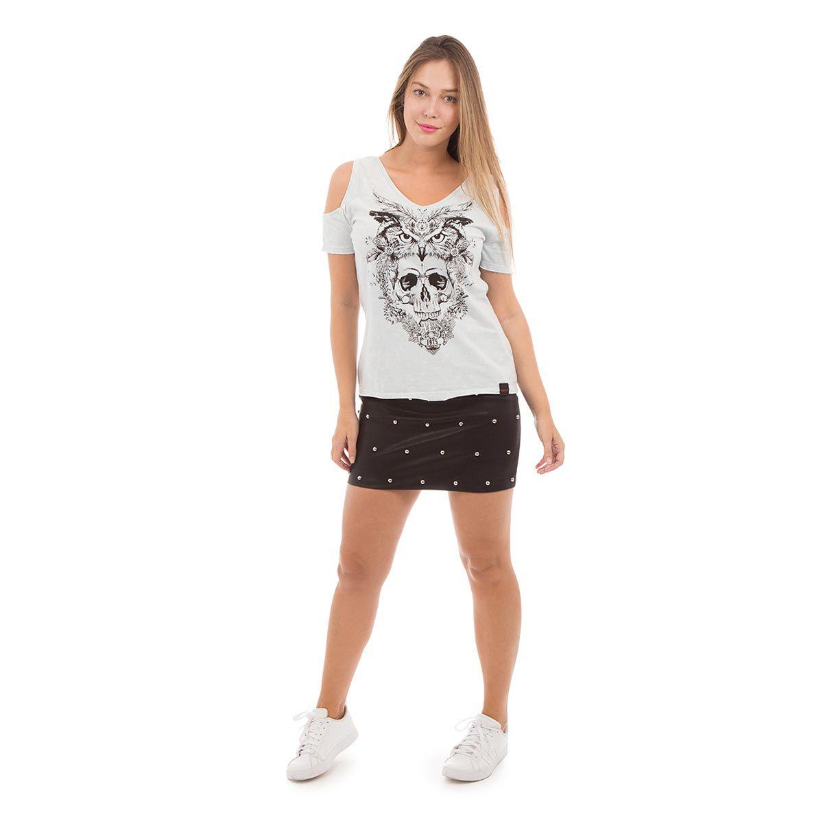 Camiseta AES 1975 Owl and Skull
