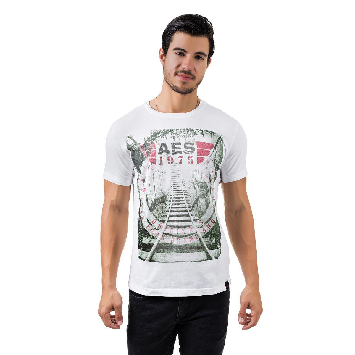Camiseta AES 1975 Rails