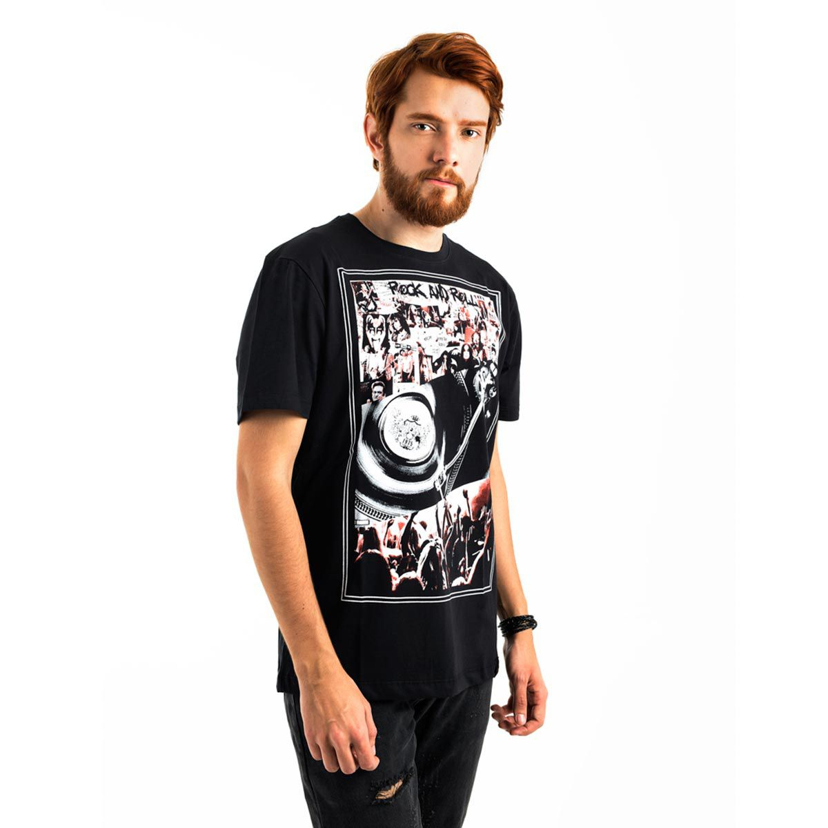 Camiseta AES 1975 Rock and Roll