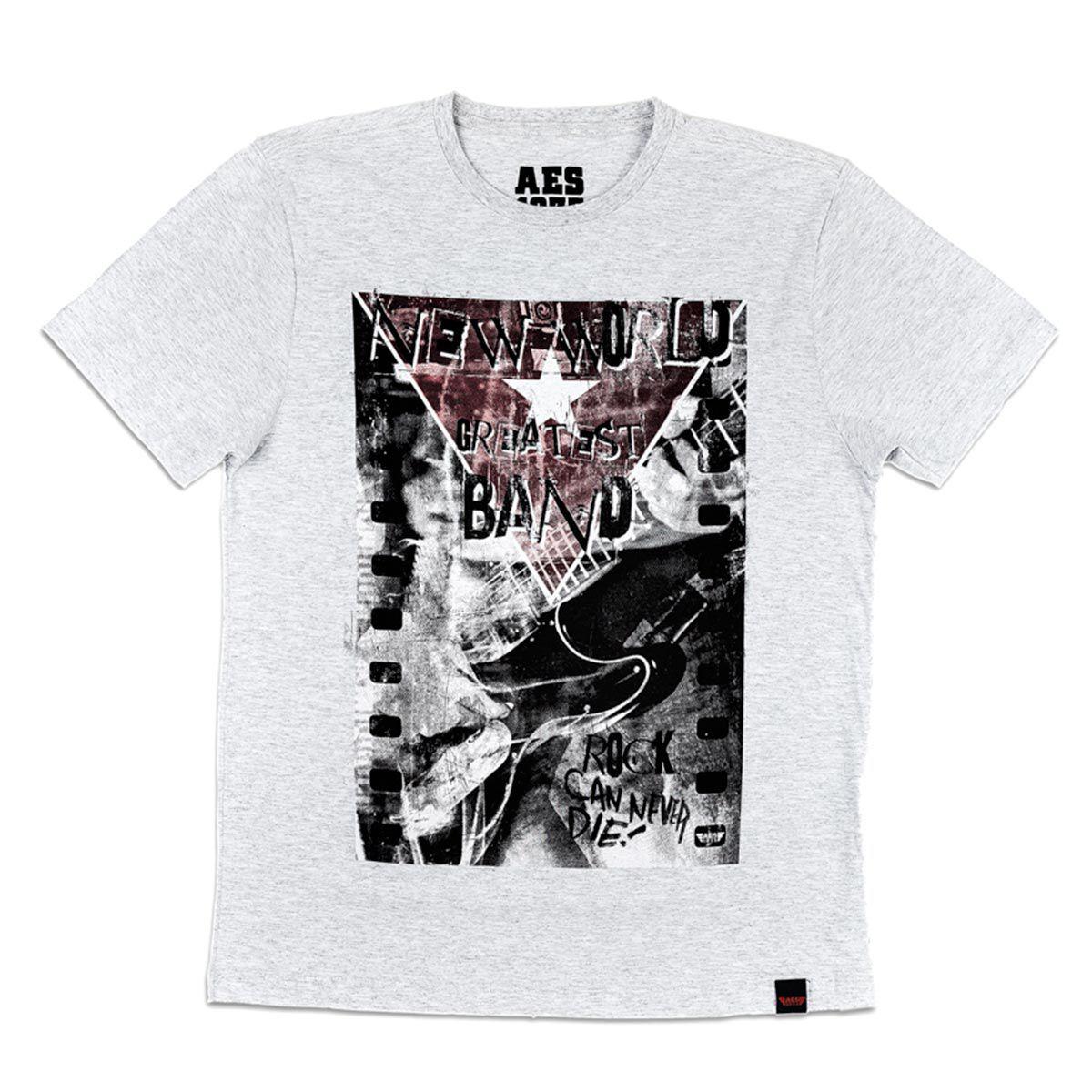 Camiseta AES 1975 Rock Can Never Die