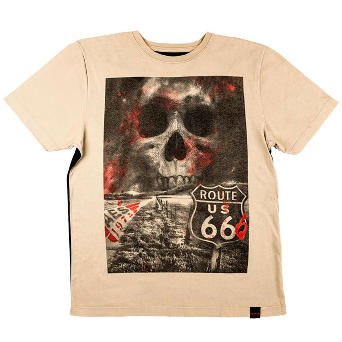 Camiseta AES 1975 Route 666