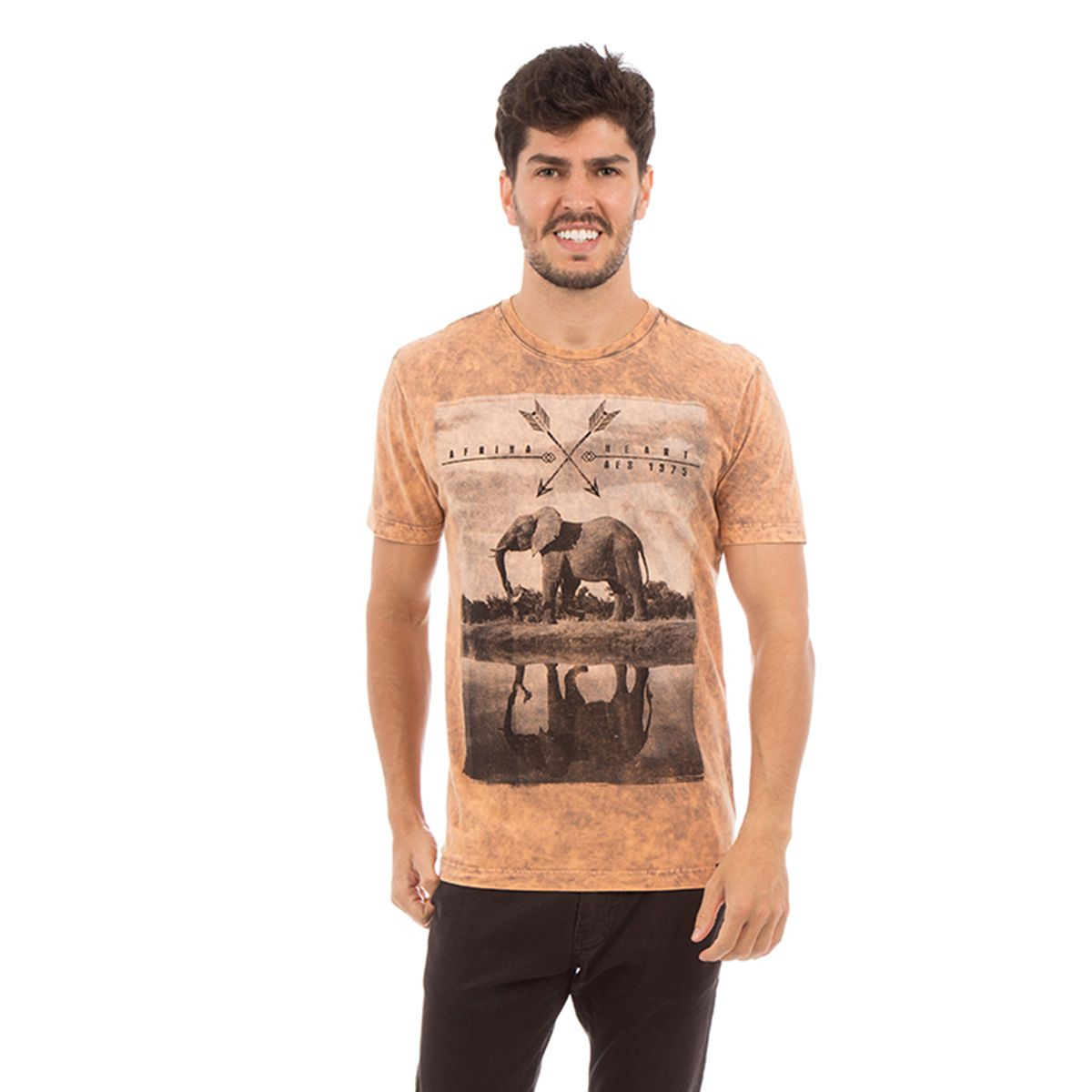 Camiseta AES 1975 Safari