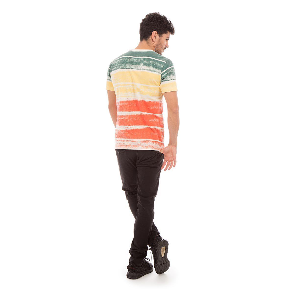 Camiseta AES 1975 Striped