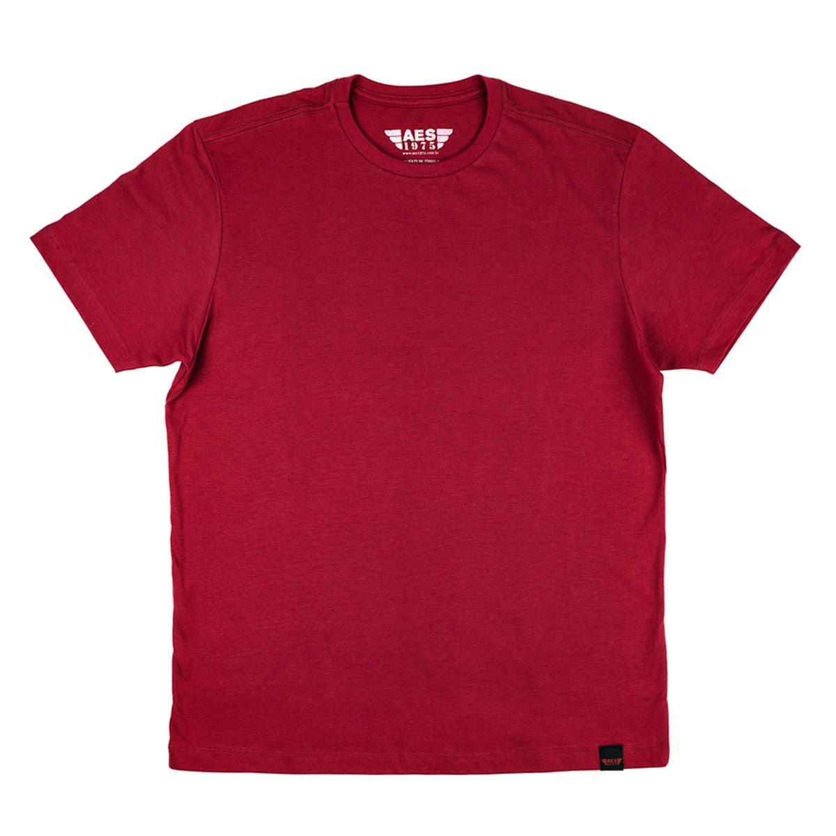 Camiseta  Básica Vinho