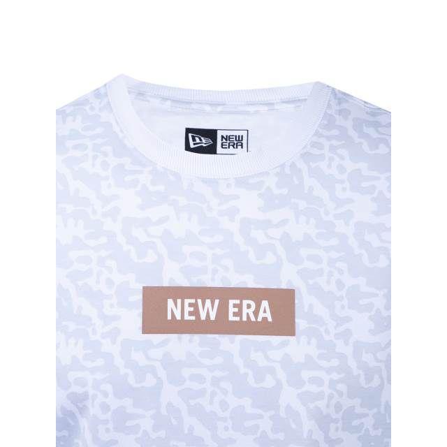 Camiseta Camo Rev All - BRANCO