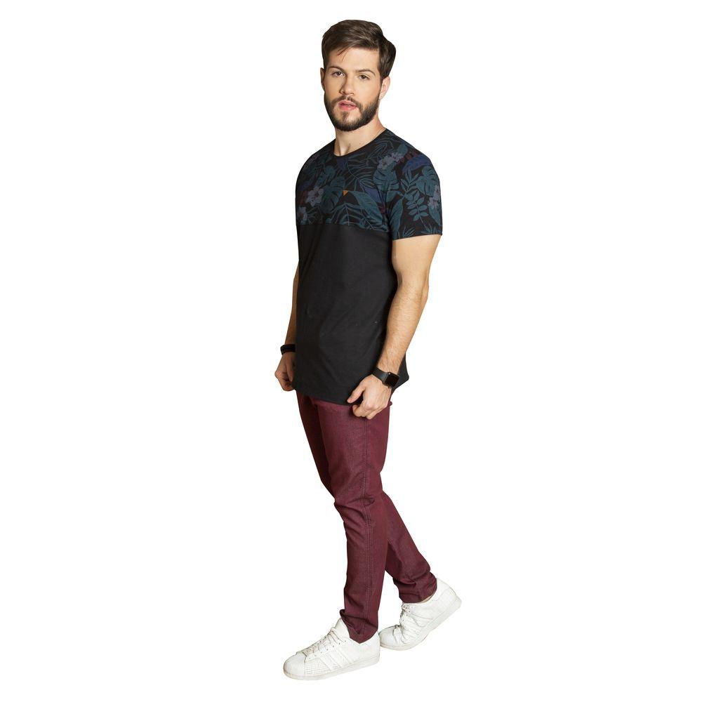 Camiseta duas cores